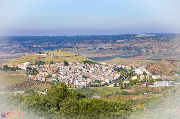 Vista de Alcaraz-Dede carretera de la Mesta-8