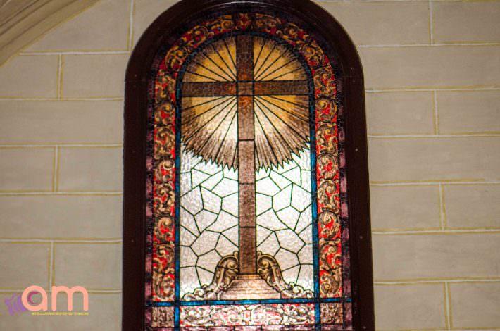 Capilla de Nuestra Señora de la Piedad-Vidriera