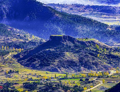 Vistas desde el Pico de la Sarga